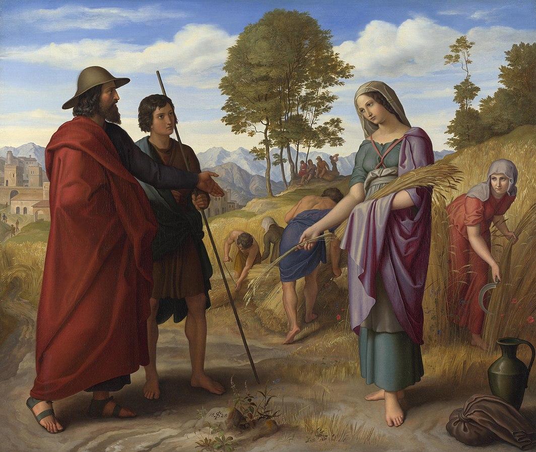 Julius Schnorr von Carolsfeld (1794–1872) Ruth in Boaz's Field, (1828)