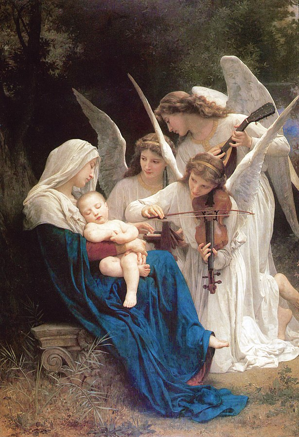 Song of the Angels, (1881), William-Adolphe_Bouguereau (1825-1905)